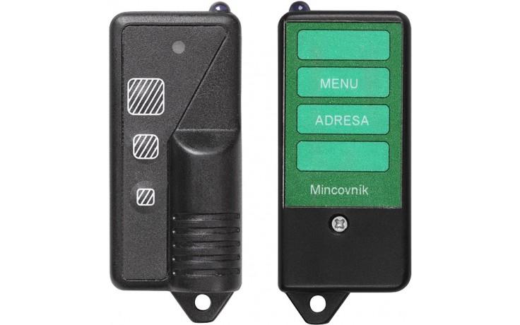 SANELA SLD05 dálkové ovládání, pro nastavení parametrů mincovních automatů
