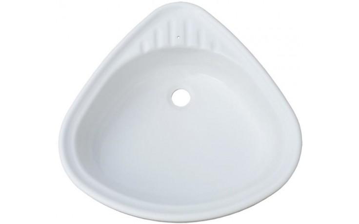 VAGNERPLAST umyvadlo 550x560x140mm otočné, akrylát, bílá