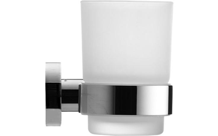Doplněk držák se skleničkou Duravit D-Code pravý chrom