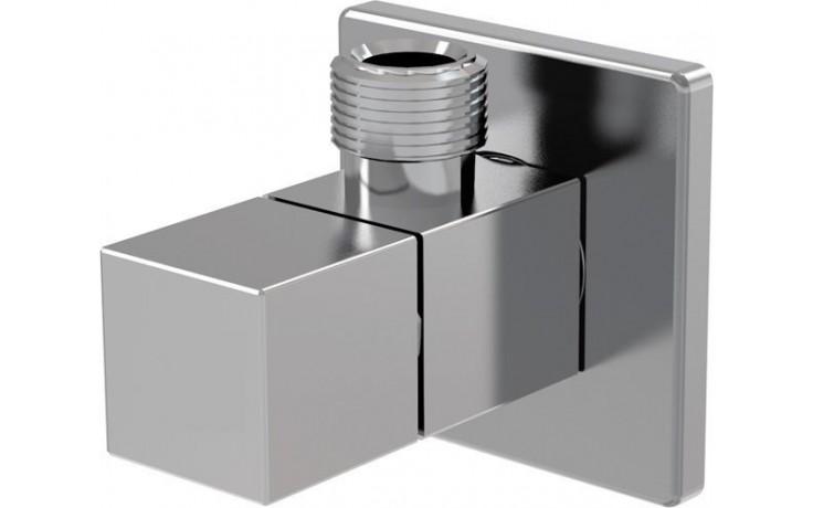 """EASY rohový ventil 1/2""""x3/8"""" hranatý, chrom"""