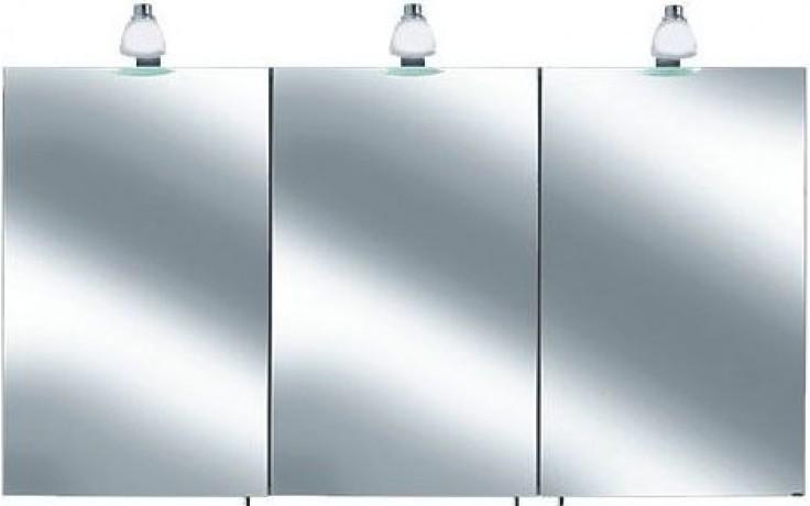 KEUCO ROYAL 30 zrcadlová skříňka 1300x885mm, s osvětlením, matná bílá
