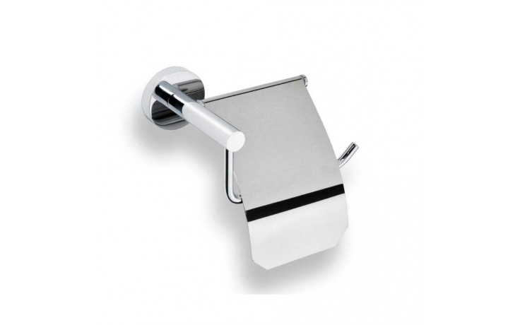 Doplněk držák toal. papíru GOZ METAL Inox II s krytem 160x92x102 mm chrom