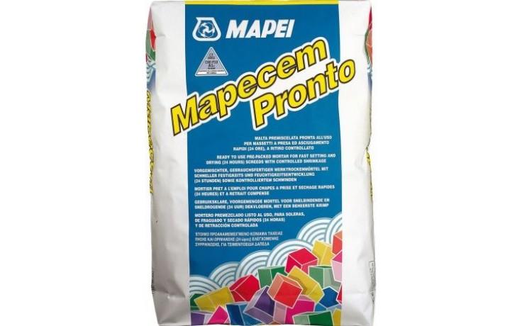 MAPEI MAPECEM PRONTO maltová směs 25kg, předmíchaná, suchá, šedá