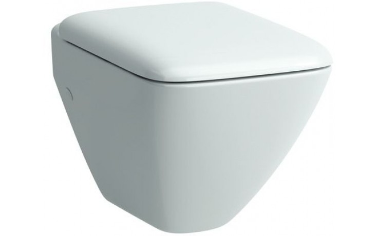 LAUFEN PALACE závěsné WC compact 490x360mm s hlubokým splachováním, bílá 8.2070.3.000.000.1