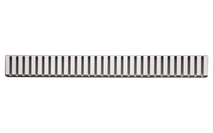 CONCEPT rošt pro liniový podlahový žlab 950mm, kolmý, nerez