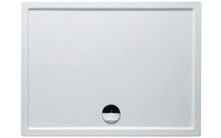RIHO ZÜRICH 270 DA70 sprchová vanička 90x80cm obdélník, akrylátová, bílá