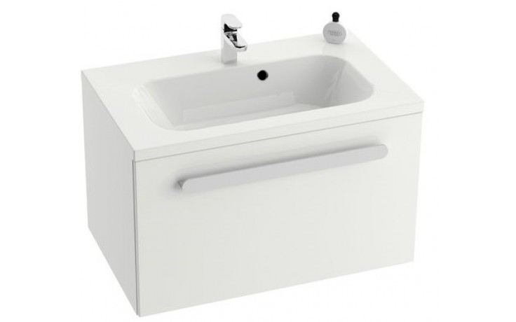 RAVAK CHROME SD 800 skříňka 800x490x470mm pod umývátko, s-onyx/bílá X000000535