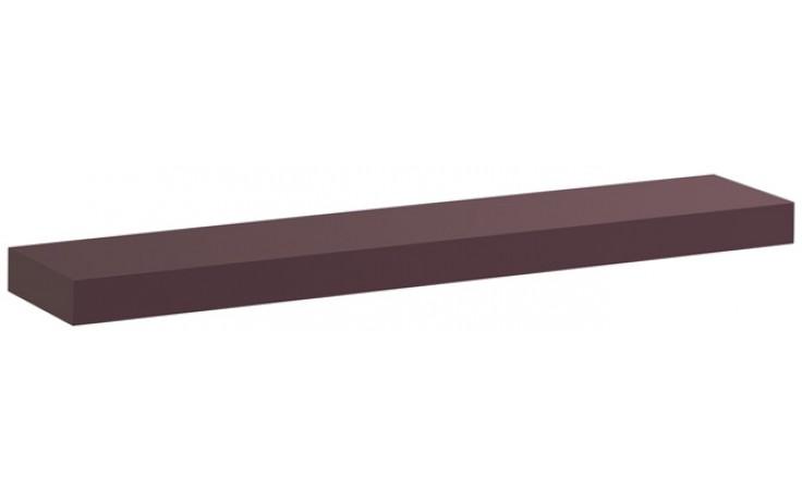 KERAMAG ICON polička 90cm burgundy lesklá 840991000