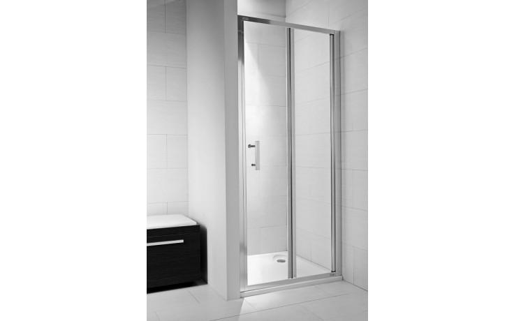JIKA CUBITO PURE sprchové dveře 900x1950mm skládací, arctic 2.5524.2.002.666.1