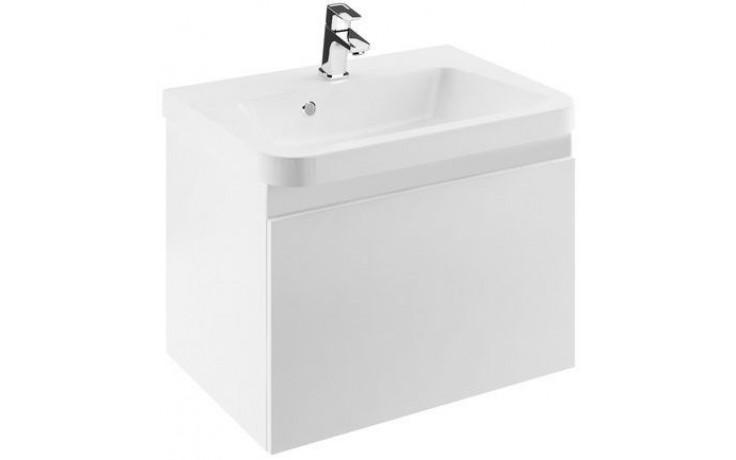 RAVAK 10 skříňka pod umyvadlo 550x450x450mm, bílá