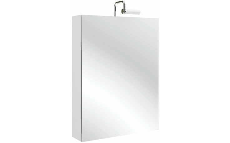 KOHLER REACH skříň 600x140x650mm se zrcadlem, závěsy vpravo, gray anthracite 97427RD-N14