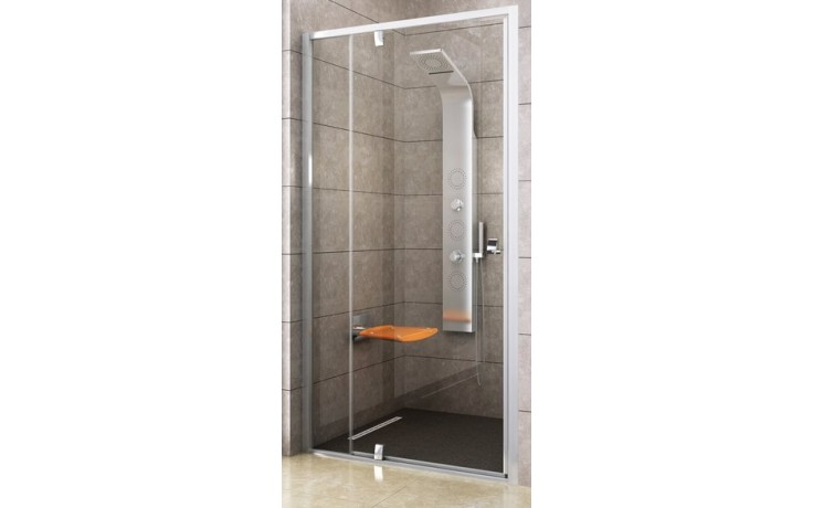 Zástěna sprchová dveře Ravak sklo PDOP2-100 100 bright alu/transparent