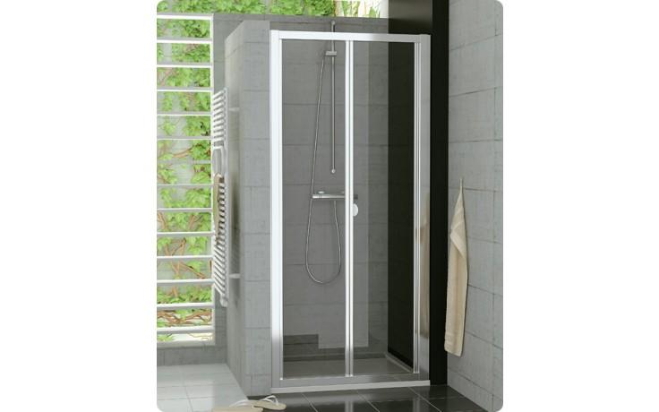 Zástěna sprchová dveře Ronal TOP-Line TOPK 0700 01 07 70x190 cm matný elox/čirá AQ