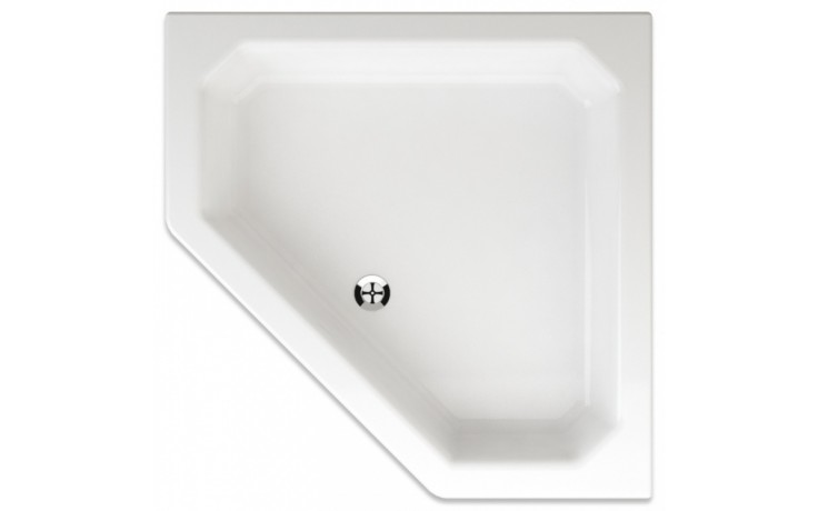 TEIKO PEGAS sprchová vanička 90x90x14cm, pětiúhelník, akrylát, bílá