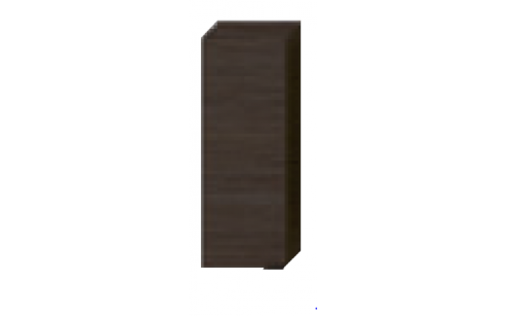 JIKA TIGO skříňka 300x165x810mm, střední, mělká, mokka/mokka