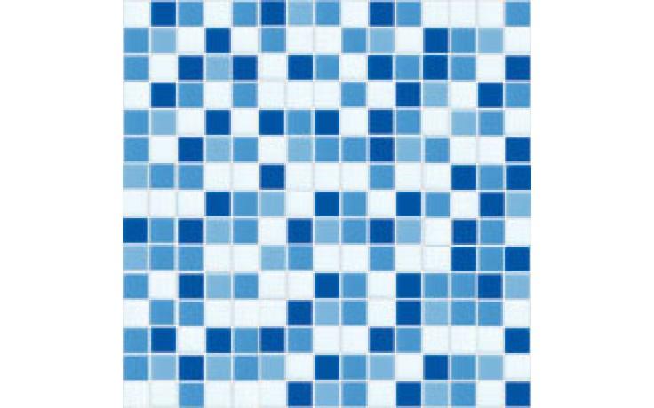 Obklad Butterfly EUROMOSAIC HEAVEN 20x20mm modrobílý mix