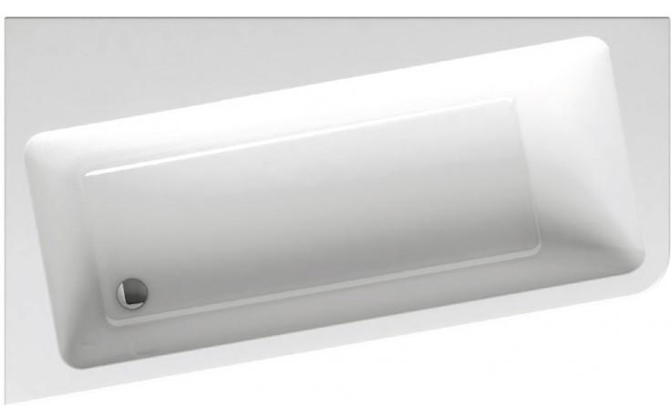 RAVAK 10 170 P asymetrická vana 1700x1000mm akrylátová, pravá, snowwhite C821000000
