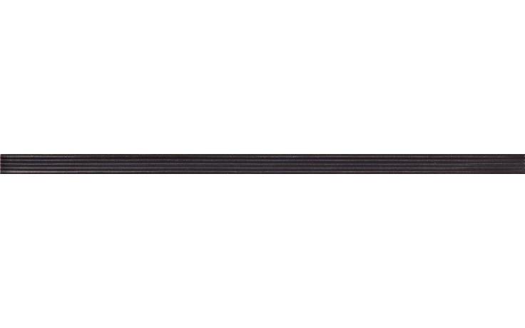 IMOLA ANTIGUA listela 2x60cm black, L.RILIEVI 2N