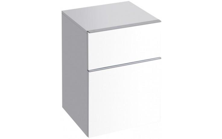 KERAMAG ICON skříňka 45x60cm, postranní, závěsná, bílá lesklá 840045000