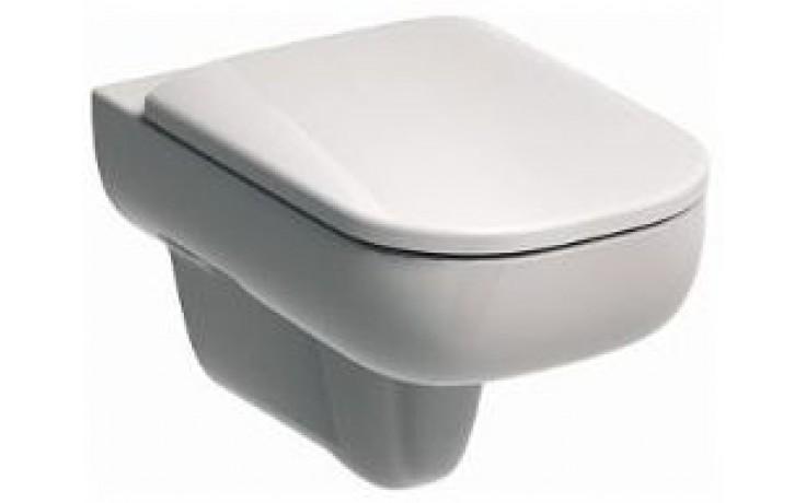 KOLO TRAFFIC klozet závěsný 35x54cm s hlubokým splachováním, bez splachovacího kruhu, bílá L93120000