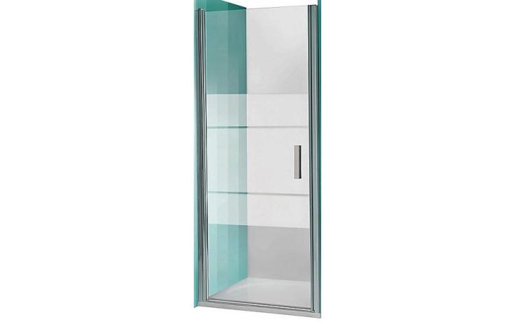 ROLTECHNIK TOWER LINE TCN1/1200 sprchové dveře 1200x2000mm jednokřídlé pro instalaci do niky, bezrámové, brillant/transparent