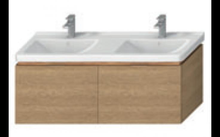 JIKA CUBITO-N skříňka pod dvojumyvadlo 1280x467x480mm, dub
