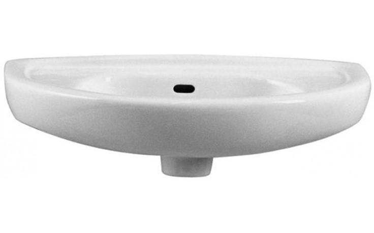 CONCEPT 100 umývátko 530x260mm bez otvoru, bílá alpin 6024L003-0811