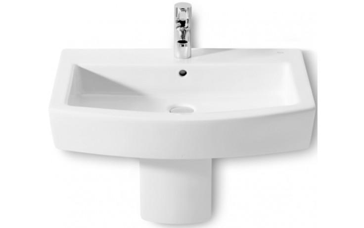 ROCA HALL umyvadlo 650x495mm s otvorem, s instalační sadou, bílá