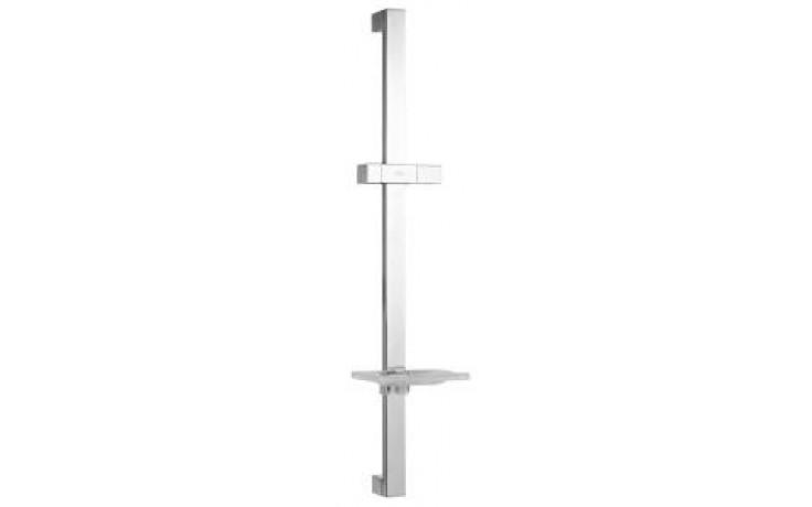 JIKA CUBITO sprchová tyč s posuvným držákem ruční sprchy 140x684mm s mýdelníkem, chrom