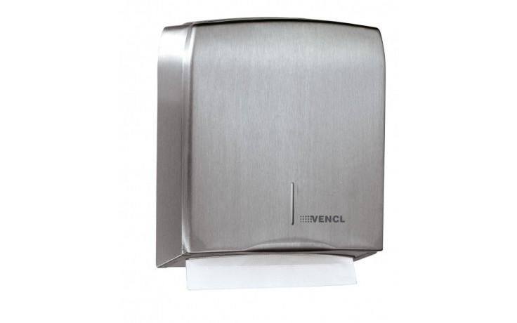 Doplněk zásobník na ručníky - MEDIBOX CS 132x275x331 mm, 600 ruč.Z matný nerez