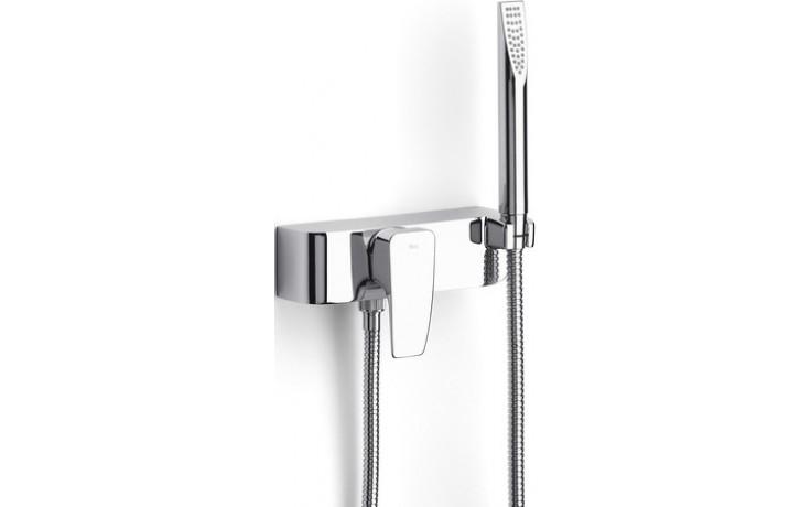 ROCA THESIS sprchová páková baterie se sprchou, hadicí a držákem, chrom 75A2050C00