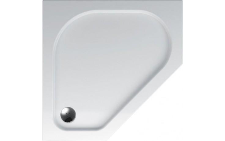 TEIKO ZEUS sprchová vanička 90x90x3,5cm, pětiúhelník, akrylát, bílá
