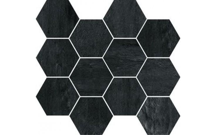 IMOLA CREATIVE CONCRETE mozaika 25x30cm black, MK.CREACON N