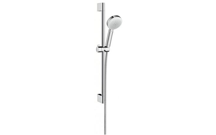 HANSGROHE sada ruční sprcha Crometta 100 1jet/nástěnná tyč Unica'Croma chrom 26652400