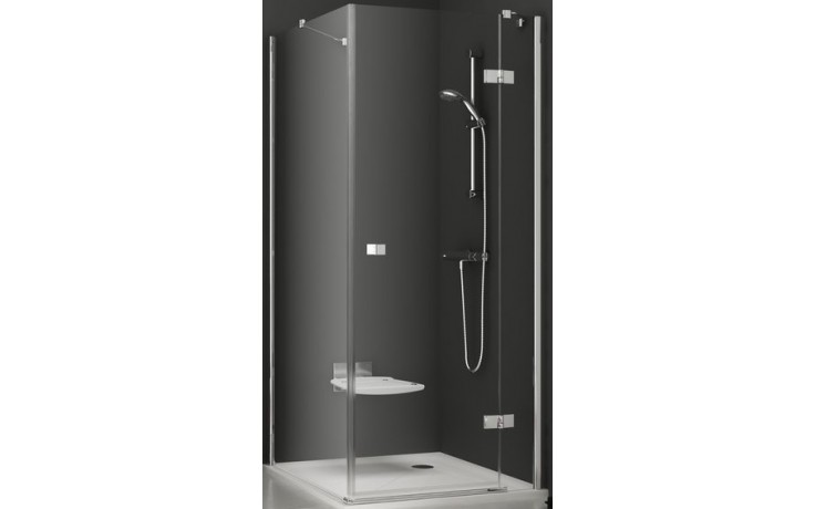 Zástěna sprchová boční Ravak sklo SmartLine SMPS-80 L 800x1900mm chrom/transparent