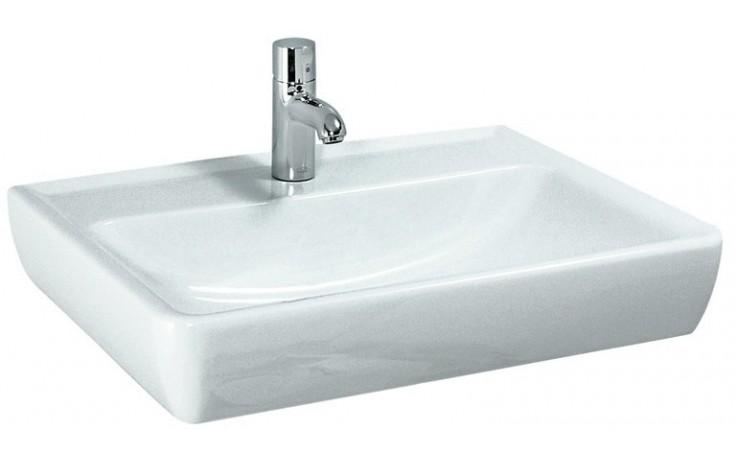 LAUFEN PRO A umyvadlo 600x480mm bez otvoru, bílá LCC