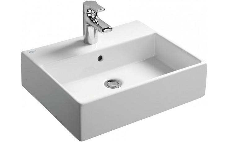 IDEAL STANDARD STRADA umyvadlo 500x420x145mm, s otvorem a přepadem, bílá Ideal Plus