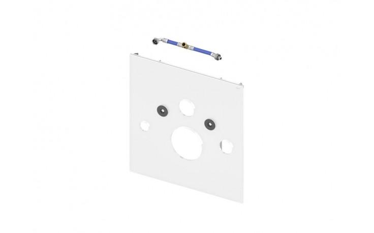 Příslušenství k předstěnovým syst. TECE - TECElux 9 650 101 skleněná deska pro sprchovací toalety  bílé sklo