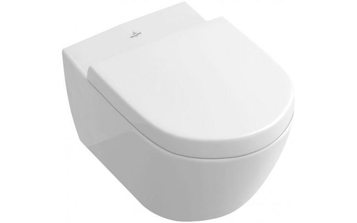 CONCEPT VERITY DESIGN WC závěsné 370x560mm vodorovný odpad, bílá alpin