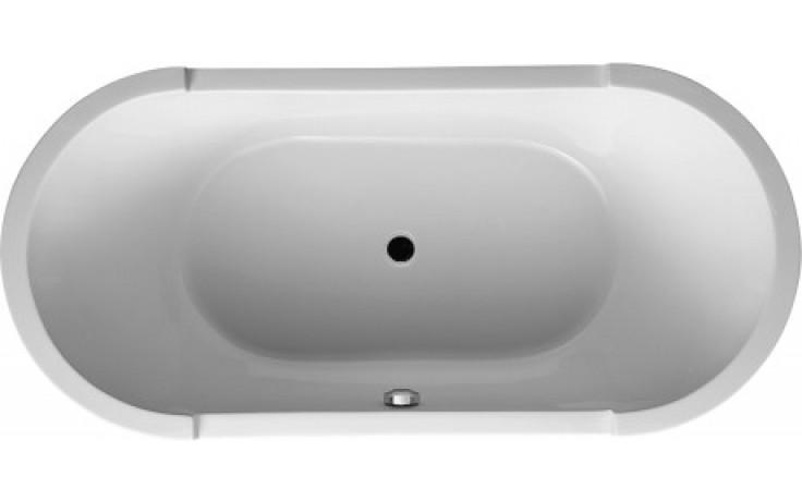 Vana plastová Duravit - Starck oválná volně stojící 1900x900x460 mm bílá