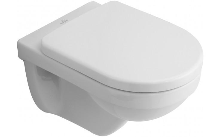 VILLEROY & BOCH VERITY DESIGN závěsný klozet 370x540mm s hlubokým splachováním a vodorovným odpadem bílá Alpin Ceramicplus 568010R1