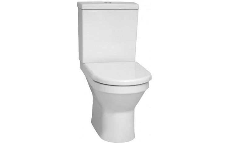 VITRA S50 kombinované WC 335x655mm vodorovný odpad bílá 5321L003-7200