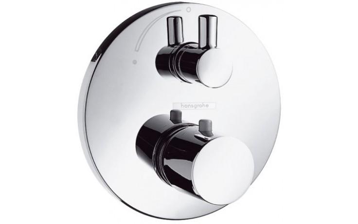 HANSGROHE ECOSTAT S baterie termostatická, pod omítku, s uzavíracím ventilem chrom 15701000