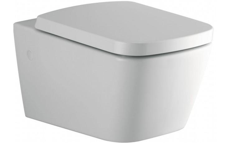 WC závěsné Ideal Standard odpad vodorovný Mia  bílá