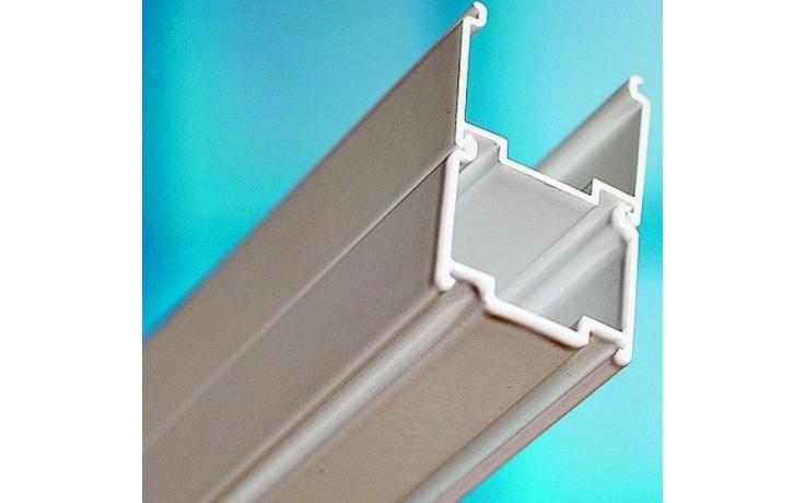 Příslušenství ke sprchovým koutům Ravak - nastavovací profil ANPV výška 1370 mm satin