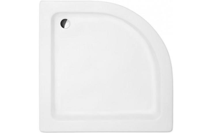 ROLTECHNIK HAWAII sprchová vanička 800x800x150mm R550 akrylátová, čtvrtkruhová, bílá