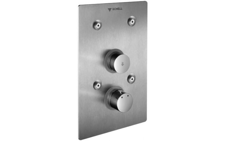 SCHELL LINUS BASIC D-SC-T nástěnná sprcha 183x3x283mm, podomítková, nerez