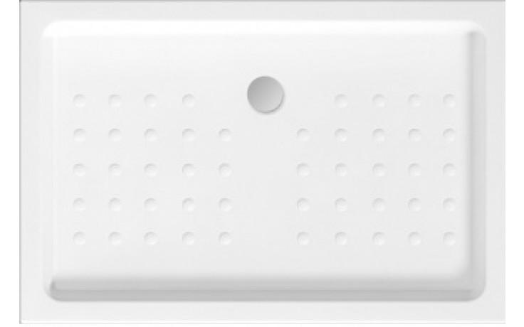 JIKA NEO-RAVENNA keramická sprchová vanička 1000x800x85mm obdélníková, bílá