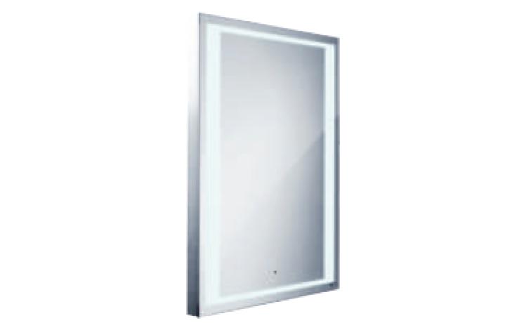 NIMCO 4001S zrcadlo s LED osvětlením se senzorem 800x600mm chrom ZP 4001S
