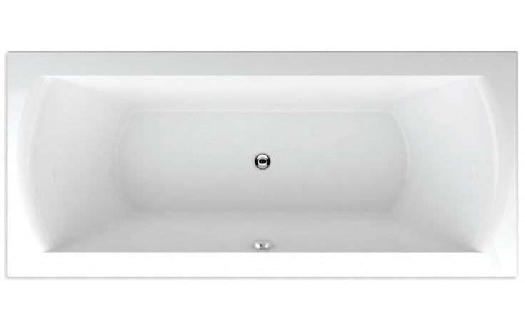 TEIKO FENIX 170 vana 170x75x45cm, obdélník, akrylát, bílá